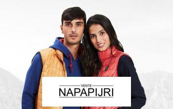 Vente privée NAPAPIJRI sur BazarChic