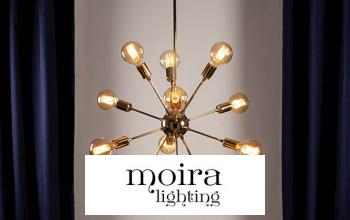 Vente privee MOIRA LIGHTING sur BazarChic