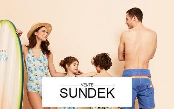 Vente privée SUNDEK sur BazarChic