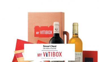 Vente privée SMARTDEAL MY VITIBOX sur BazarChic