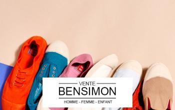 Vente privee BENSIMON sur BazarChic