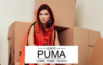 Vente privée PUMA sur BazarChic