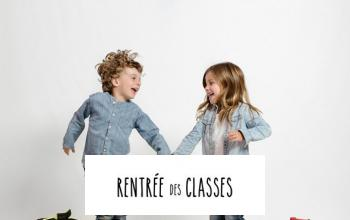 Vente privee RENTREE DES CLASSES sur BazarChic