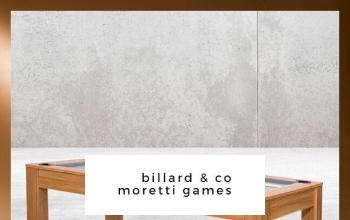 BILLARD & CO MORETTI GAMES en vente flash chez BAZARCHIC