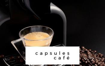 Vente privée CAPSULES CAFE sur BazarChic