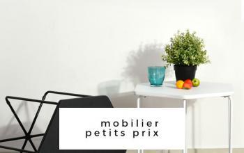 Vente privée MOBILIER PETITS PRIX sur BazarChic