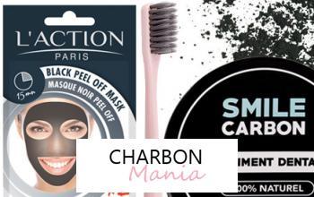 Vente privée CHARBON MANIA sur Beauté Privée
