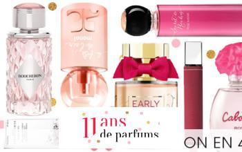 Vente privée 11 ANS DE PARFUMS sur Beauté Privée