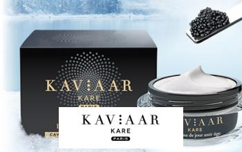 Vente privee KAVIAAR KARE sur Beauté Privée