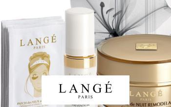 Vente privée LANGE sur Beauté Privée