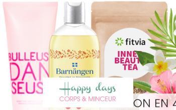 Vente privée HAPPY DAYS CORPS  MINCEUR sur Beauté Privée