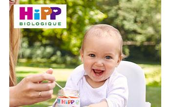 HIPP en vente privilège sur BÉBÉBOUTIK