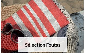 SELECTION FOUTAS en vente flash sur BRANDALLEY
