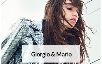 GIORGIO & MARIO en vente flash sur BRANDALLEY