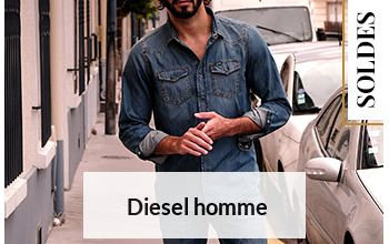 DIESEL en vente flash sur BRANDALLEY