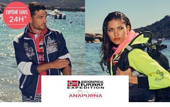 Vente privée GEOGRAPHICAL NORWAY sur Brandalley