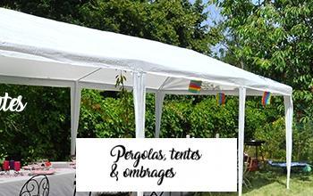 Vente privée PERGOLAS TENTES OMBRAGES sur BricoPrive