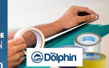 Vente privée BLUE DOLPHIN CHANTIERS ADHESIFS PROFESSIO... sur BricoPrive