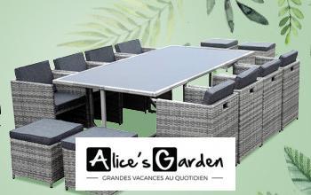 ALICE'S GARDEN en promo chez BRICOPRIVÉ
