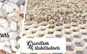 Vente privée GRAVILLONS STABILISATEURS sur BricoPrive