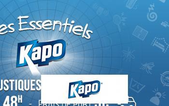 Vente privée KAPO ANTI MOUSTIQUES INSECTICIDES sur BricoPrive
