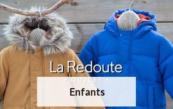 ENFANTS en vente privilège chez LA REDOUTE