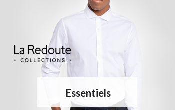 ESSENTIELS en vente privée sur LA REDOUTE