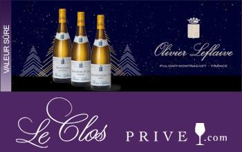 Vente privée OLIVIER LEFLAIVE sur LeClos-Privé
