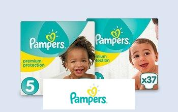 Vente privee PAMPERS sur Limango