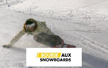 BOURSE AUX SNOWBOARDS en promo chez PRIVATESPORTSHOP