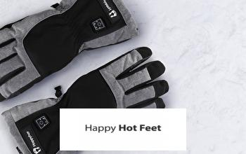 HAPPY HOT FEET pas cher sur PRIVATESPORTSHOP