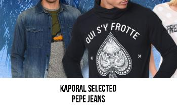 Vente privee KAPORAL PEPE JEANS SELECTED sur PrivateSportShop