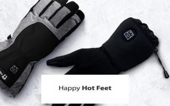 HAPPY HOT FEET à bas prix chez PRIVATESPORTSHOP