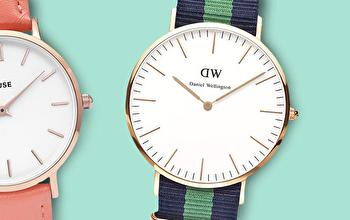 DANIEL WELLINGTON en vente privée chez PRIVATESPORTSHOP