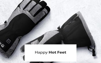 HAPPY HOT FEET à prix discount sur PRIVATESPORTSHOP