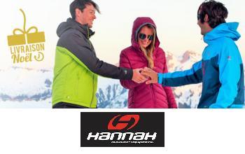 Vente privee HANNAH sur PrivateSportShop
