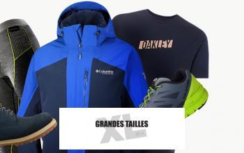 GRANDES TAILLES XL ET + en promo chez PRIVATESPORTSHOP
