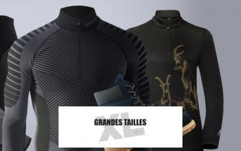 GRANDES TAILLES XL ET + en vente privilège sur PRIVATESPORTSHOP
