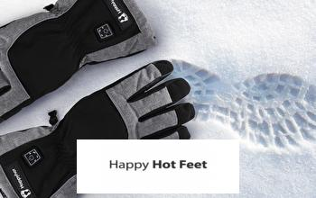 HAPPY HOT FEET en soldes sur PRIVATESPORTSHOP
