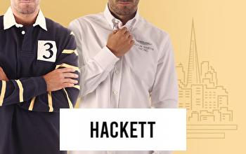 HACKETT en vente privée chez PRIVATESPORTSHOP