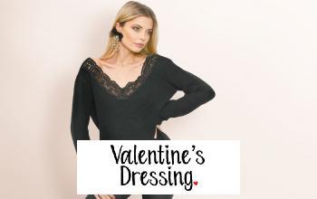 VALENTINE'S DRESSING en promo chez SHOWROOMPRIVÉ