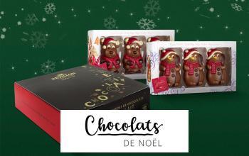 Vente privée CHOCOLATS DE NOEL sur ShowRoomPrivé