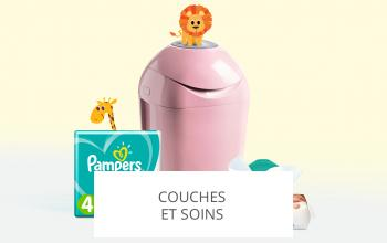 Vente privée PAMPERS TOMMEE TIPPEE sur ShowRoomPrivé