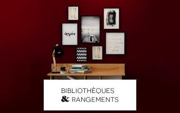 BIBLIOTHEQUES ET RANGEMENTS à super prix chez SHOWROOMPRIVÉ