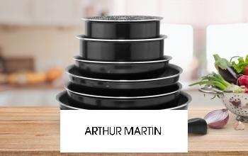 ARTHUR MARTIN à super prix sur SHOWROOMPRIVÉ