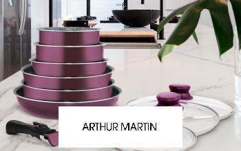 Vente privée ARTHUR MARTIN sur ShowRoomPrivé