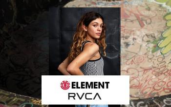 Vente privee ELEMENT RVCA sur ShowRoomPrivé