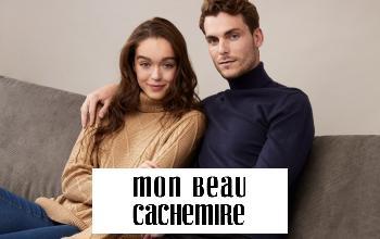 MON BEAU CACHEMIRE en soldes sur SHOWROOMPRIVÉ