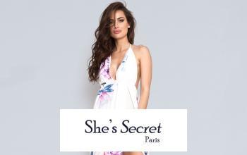 Vente privée SHE'S SECRET sur ShowRoomPrivé