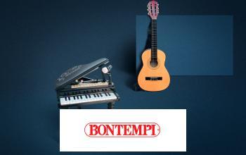 Bontempi Clavier Micro 524025-3 en 1 Batterie